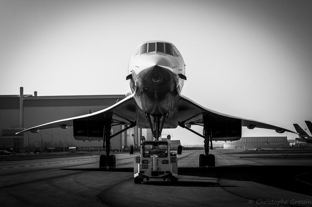 Le Concorde au musée Aeroscopia
