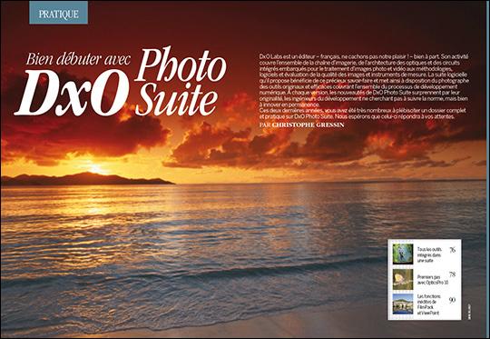 Competence Photo - DxO Photo Suite