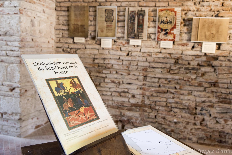 Moissac - Enluminure romane