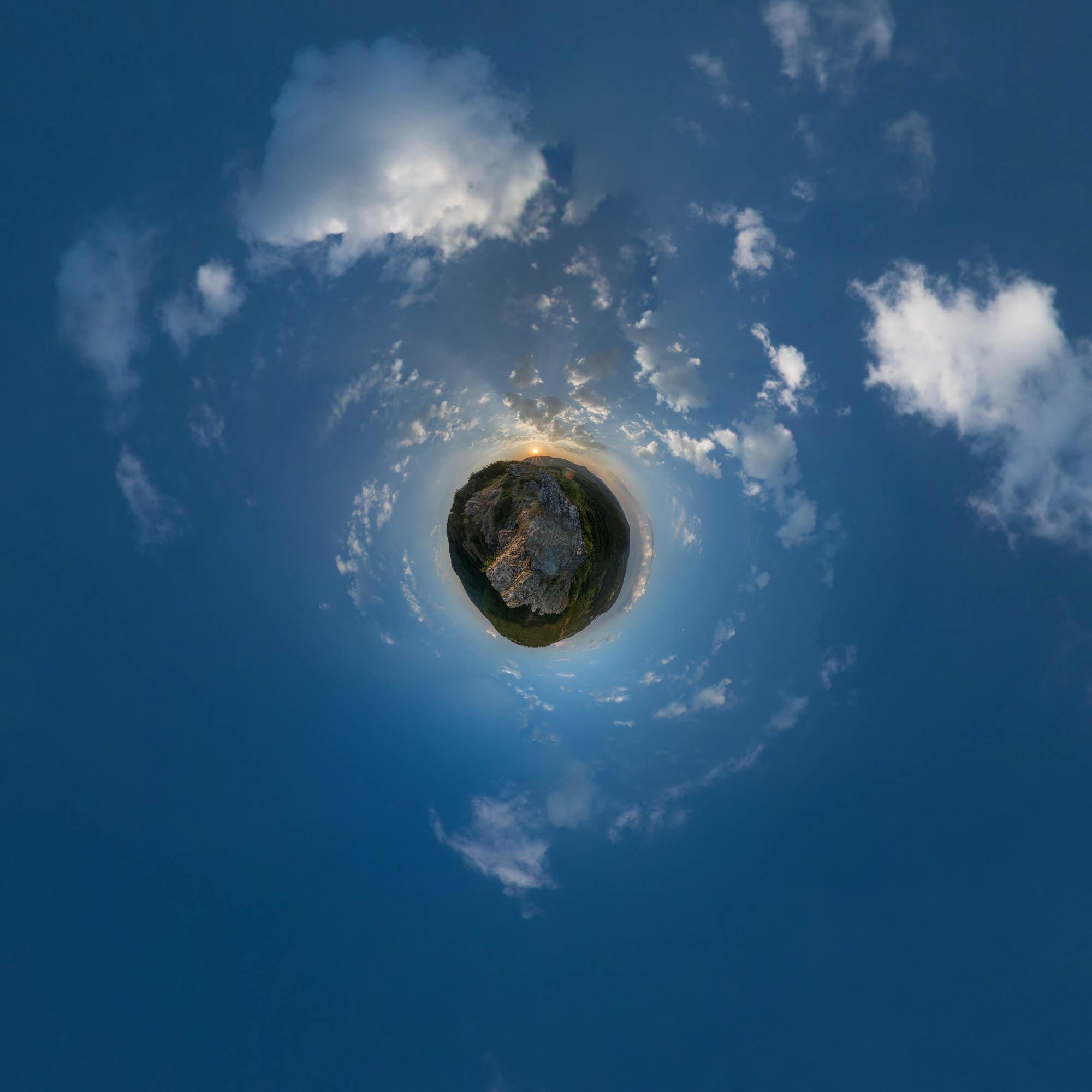 Roc Suzadou - Visite virtuelle - Mini Planète